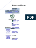 Pakistan Armed Forces 2