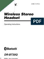 Manual audifonos inlambricos