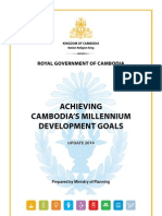 Cambodia Millennium Development Goals Report 2010 (en)