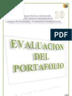 Evaluación del Portafolio