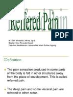 Reffered Pain