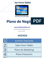Sales Force Tablet - Business Plan