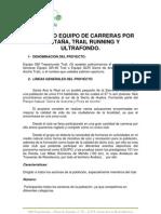 Proyecto Equipo GM Trepamundo 2012 - 2013