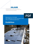 Solar Cooling Design Guideline