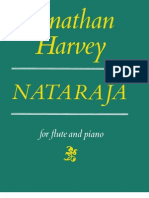 Harvey - Natajara for Flute and Piano