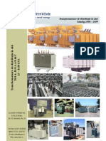 Catalog Azen - Transformatoare in Ulei