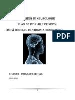 Plan de Nursing.neurologie-cristina Toteanu