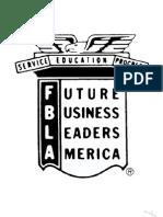 FBLA Handbook 2013