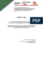 Analisis Critico