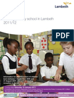 Primary Admissions Brochure 201112