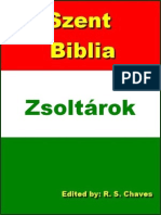 Hungarian Holy Bible Psalms R S Chaves PDF