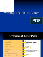 Chapter 2 Writing a Business Letter