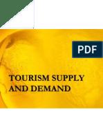 Tourism Supply and Demand b
