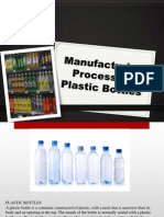 Manufacturing Process of Plastic Bottles