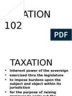 Taxation Introduction