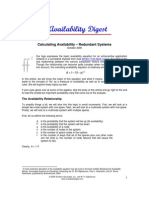Calculating Availability