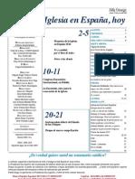 Semanario Católico Alfa y Omega. nº 791. 21 Junio 2012