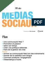 Formation - optimiser les médias sociaux