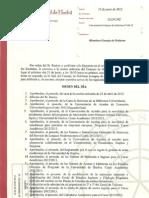 Convocatoria Consejo de Gobierno 21_06_12