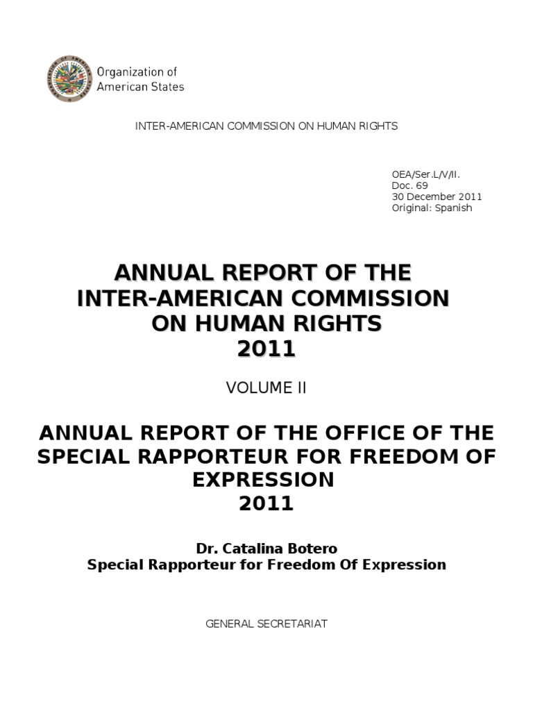 Freedom Of Expression 2011 Defamation Human Rights Para El Circuito Ironman 703 Noticias De La Ciudad Buenos Aires