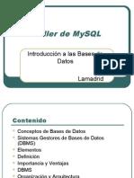 Introduccion a las Bases de Datos con MySQL