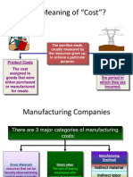 What is Product Costing-SAP