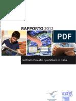 97678198 FIEG Rapporto Sull Industria Dei Quotidiani 2012