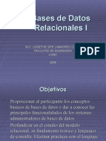 Bases de Datos Relacionales I