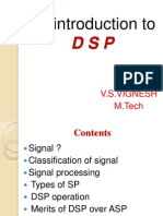 An Introduction to DSP-Vignesh