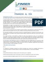 Finanzas al Día 21.06.12
