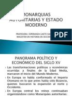 Monarquias Autoritarias y Estado Moderno