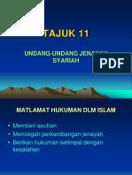 11 Kesalahan Jenayah Syariah
