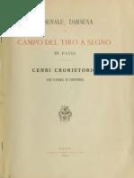 1886 VIDANI Arsenale Darsena e Tiro a Segno in Pavia