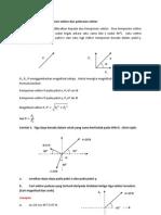 2.5 Komponen-komponen Vektor Atau Peleraian Vektor