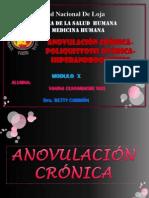 ANOVULACION-POLIQUISTOSIS-HIPERANDROGENISMO