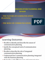 2-Nature of Comm. Planning and Role