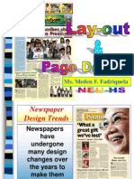 Lay-Out and Page Design MED