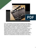 """notas del orador """"El cine"""""""