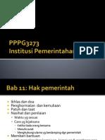 12 Hak Pemerintah
