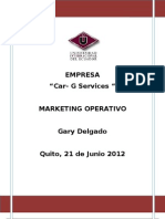 Marketing Gary Delgado Car-g Services