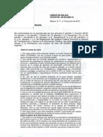 SOLICITUD AL IFE en Materia  de Transparencia y Acceso a la Información Pública. MANIFESTACIÓN DEL 06 JUNIO 2012