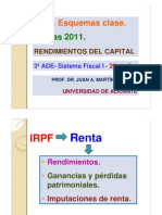 2011-2012 Ade Esquemas Clase -Tema 3 Irpf 2011- Rends Del Capital PDF Cv
