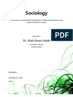 The Etiology of Diseases & Health Seeking Behavior, And the Effect of Cultural Factors on Them