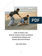 Games of Physical Skill from the Tunisian Sahara and Morocco
