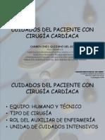 Cuidados Del Paciente Con Cirugia Cardiaca
