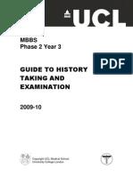 History and Examination