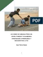 LOS JUEGOS DE HABILIDAD FÍSICA DEL SÁHARA TUNECINO Y DE MARRUECOS