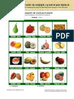 Nombres de Frutas en Poqomchi'