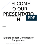 Export Procedure in Bangaldesh