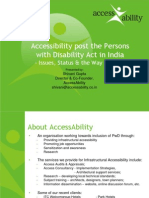 Accessibility in India